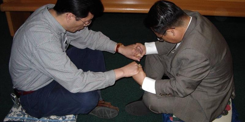 2003 - 미국 오하이오주 아가페 침례교회<br> 미국 오하이오주 아가페 침례교회 기도 세미나 (2003. 4. 24.)