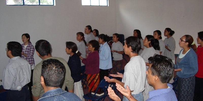 2003 - 멕시코 오하까<br> 멕시코 오하까 신학생 기도 세미나 (2003. 5.16.)