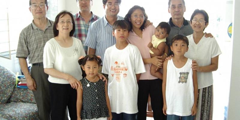 2003 - 브라질 마나우스<br> 브라질 마나우스 지역 선교사들 가족과 함께 (2003. 7. 29.)