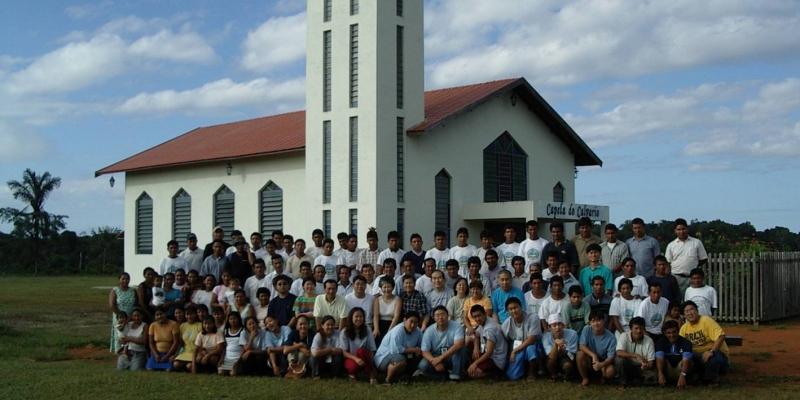 2003 - 브라질 아마존 정글<br> 브라질 아마존 정글 검은강 신학교 (김철기, 허운석 선교사)에서 기도세미나 강의 참석...