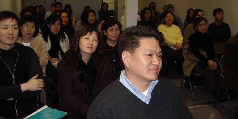 2003 - 미국 뉴욕<br> 뉴욕 스테이튼 아일렌드 기도학교 (2003.12. 6.)