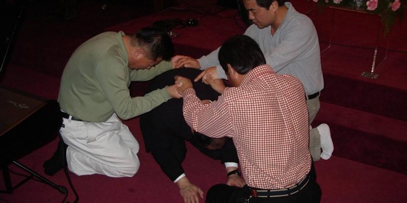 2003 - 미국 뉴욕<br> 미국 뉴욕 열방교회 (안혜권 목사)기도 세미나 (2003.12. 2)